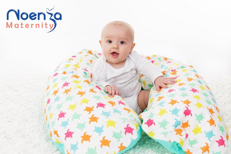 coussin d'allaitement pouf pour bébé cale bébé Noenza Maternity