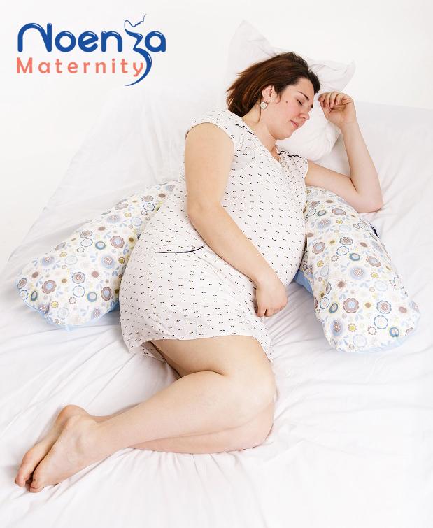 Coussin d'allaitement Noenza Maternity pour le confort de la femme enceinte et de bébé